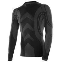 Koszulka męska termoaktywna Brubeck LS 11200 czarna