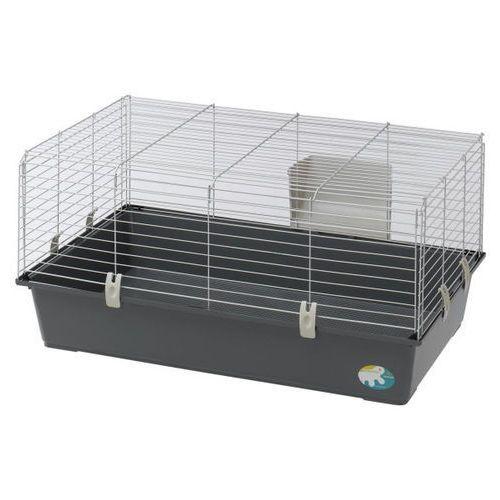 Ferplast rabbit 100 el klatka dla królika z paśnikiem