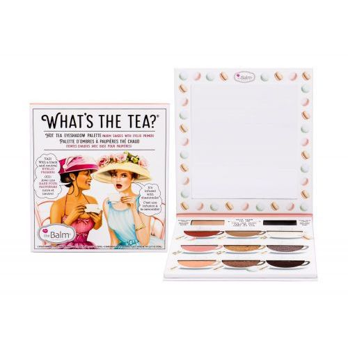 Thebalm what´s the tea? hot tea eyeshadow palette cienie do powiek 12,6 g dla kobiet - Super oferta