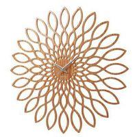 Karlsson Zegar ścienny mini sunflower wood by