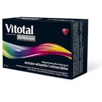 Tabletki Vitotal dla Mężczyzn 30 tabl. witaminy i minerały 845478