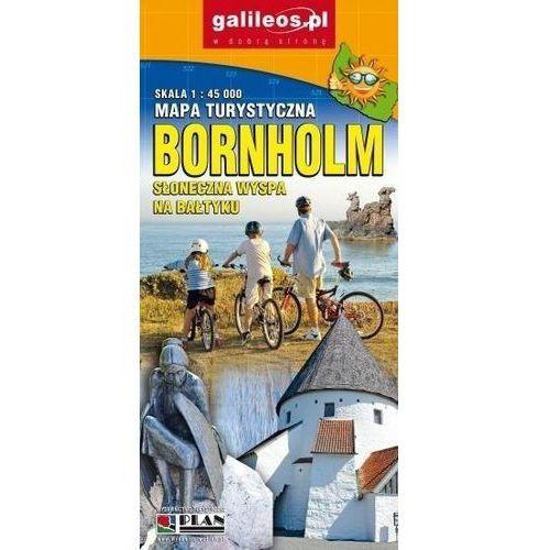 Mapa turystyczna - Bornholm 1:45 000 w.2017 - Praca zbiorowa, Plan