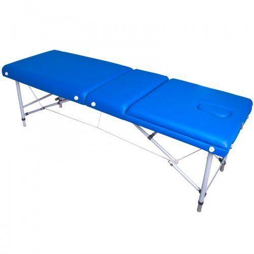 Activeshop Stół składany do masażu komfort alu 003 blue