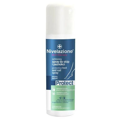 Ideepharm Nivelazione skin therapy ochronny spray do stóp i paznokci 150ml - Promocyjna cena
