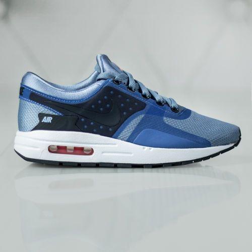 Nike Air Max Zero Essential Gs 881224-400, kolor niebieski