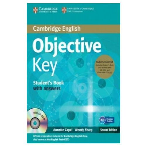 Objective Key Student's Book with answers + 3CD - Capel Annette, Sharp Wendy (2012)