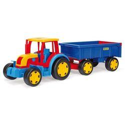 Gigant traktor z przyczepą marki Wader