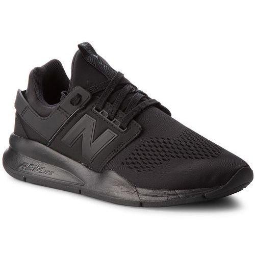 Sneakersy - ms247ek czarny, New balance, 41.5-47.5