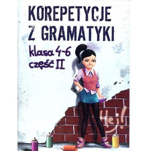 Korepetycje z gramatyki SP kl.4-6 cz.2 - Wiesława Zaręba (60 str.)
