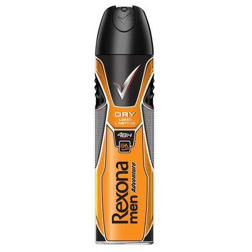 Unilever Dezodorant rexona men adventure antyperspirant w aerozolu 150 ml
