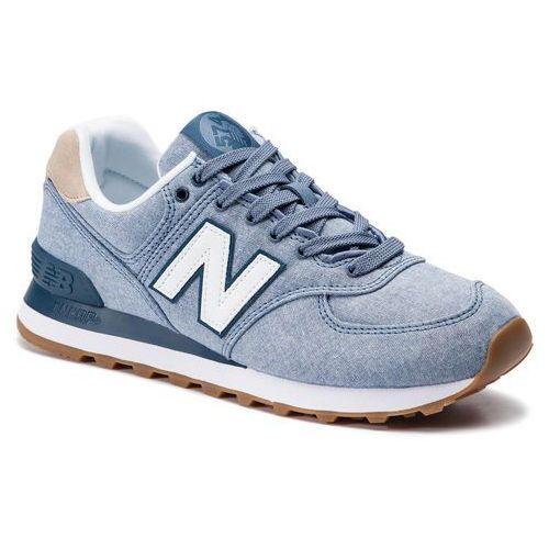 Sneakersy - ml574stb niebieski marki New balance