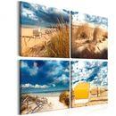 Artgeist Obraz  wakacje nad morzem  Obraz  Wakacje nad morzem