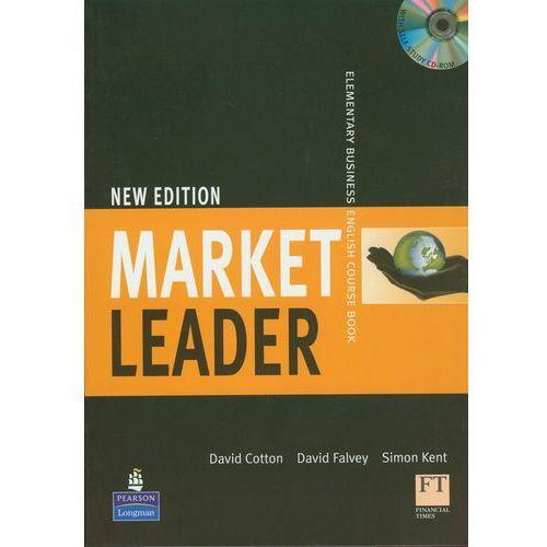 Market Leader New Elementary Business English Course Book z płytą CD - Cotton David, Falvey David, Kent Simon, oprawa miękka