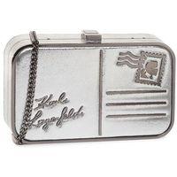 Torebka KARL LAGERFELD - 201W3130 Silver