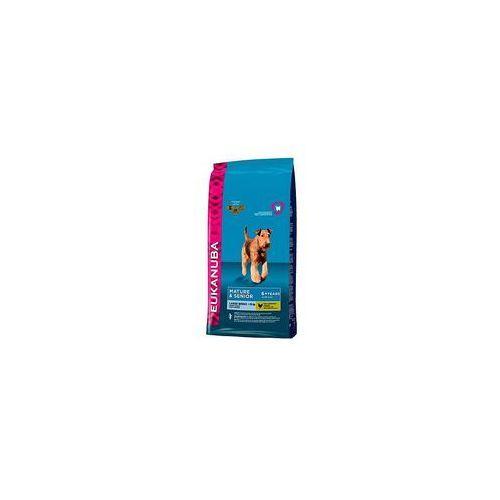 Eukanuba Podwójne punkty bonusowe: duże opakowanie - mature & senior large breed, 15 kg
