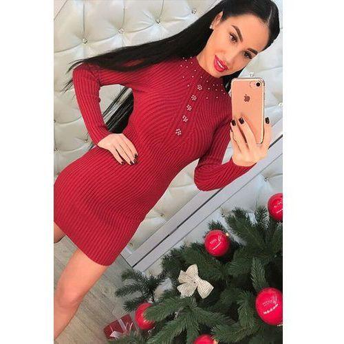 Sukienka LIMARA RED, kolor czerwony