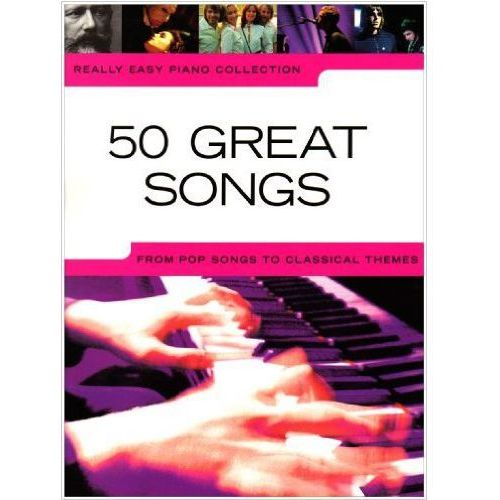 PWM 50 GREAT SONGS. REALLY EASY PIANO