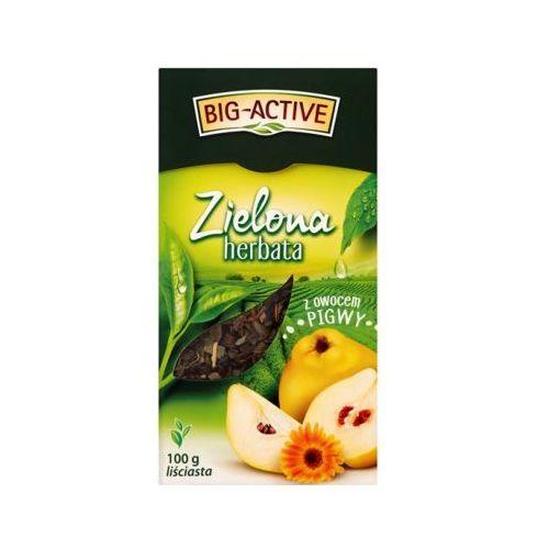 BIG ACTIVE 100g Herbata zielona z owocem pigwy liściasta