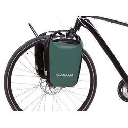 Crosso Co1010.30.94 sakwy rowerowe dry small 30l oliwkowe zestaw na tył / przód