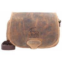 Greenburry Vintage Hunting Bag Torba na ramię skórzane 30 cm brown ZAPISZ SIĘ DO NASZEGO NEWSLETTERA, A OTRZYMASZ VOUCHER Z 15% ZNIŻKĄ