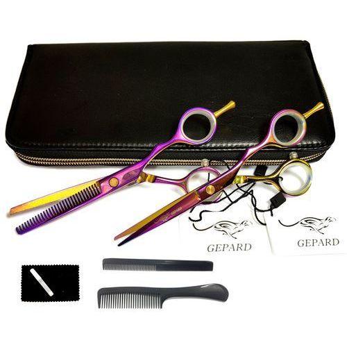 niska cena ekskluzywny asortyment kod promocyjny Degażówki 5,5 + nożyczki fryzjerskie 5,5 tytanos (Gepard)