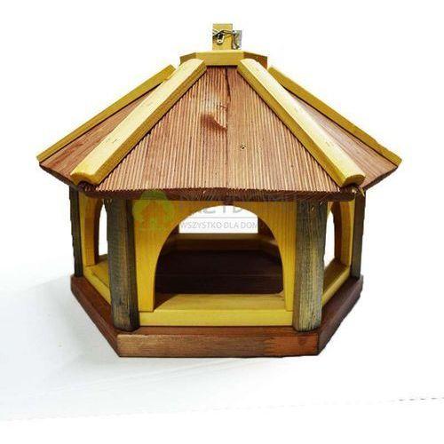 Karmnik dla ptaków K40 brąz