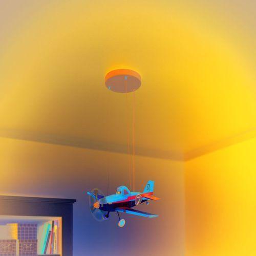 Philips 71759/53/16 - LED Lampa wisząca dziecięca DISNEY PLANES 3xLED/3W/230V