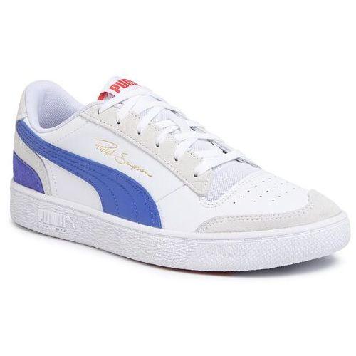 Sneakersy PUMA - Ralph Sampson Lo Vintage 371767 01 P Wht/Dazling Blu/HighRiskRd, kolor biały