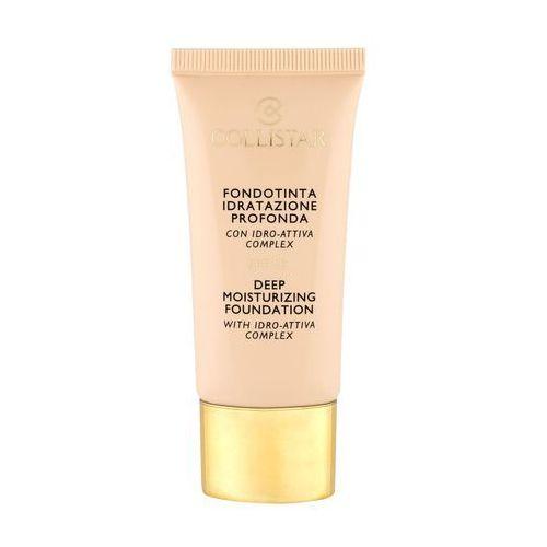Collistar deep moisturizing foundation spf15 podkład 30 ml dla kobiet 3 nude - Super oferta