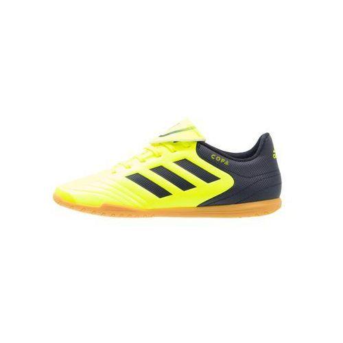 Adidas Performance COPA 17.4 IN Halówki solar yellow/legend ink