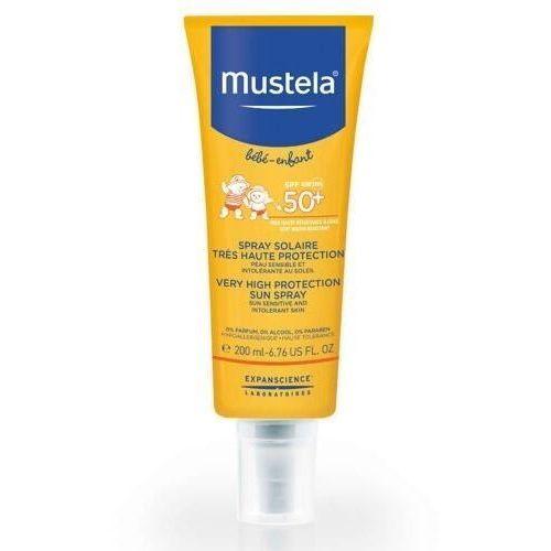 Mustela sun spray przeciwsłoneczny bardzo wysoka ochrona spf50+ 200ml Laboratoires expanscience - Świetny rabat