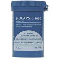 Kapsułki ForMeds BIOCAPS witamina C 1000mg 60kaps vege Konfiguracja-L - suplement diety