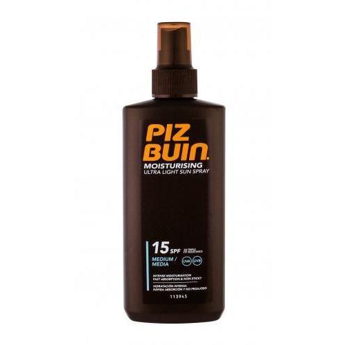 PIZ BUIN Moisturising Ultra Light Sun Spray SPF15 preparat do opalania ciała 200 ml dla kobiet - Genialny upust