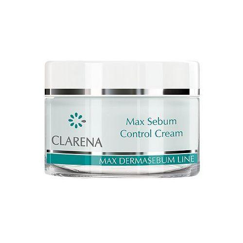 max sebum control cream krem normalizujący 50 ml marki Clarena - zdjęcie produktu