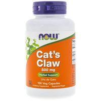 Kapsułki Now Foods Koci Pazur (Cat's Claw) 500 mg - 100 kapsułek