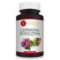 Czerwona koniczyna YANGO - ekstrakt 10:1 Trifolium pratense - 395mg - 90 kapsułek