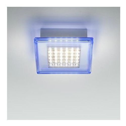 Quadriled Plafon Led Do łazienki Metal Méthacrylate Dł40cm Fabbian