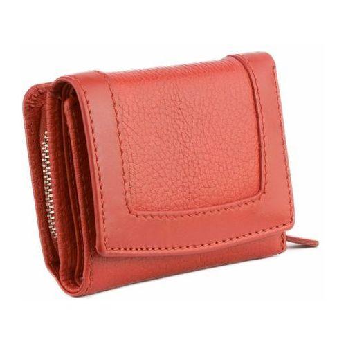 14543d82f3d6d Zobacz ofertę Mała damska portmonetka rfid monety karty zbliżeniowe  czerwony skóra - czerwony Koruma®
