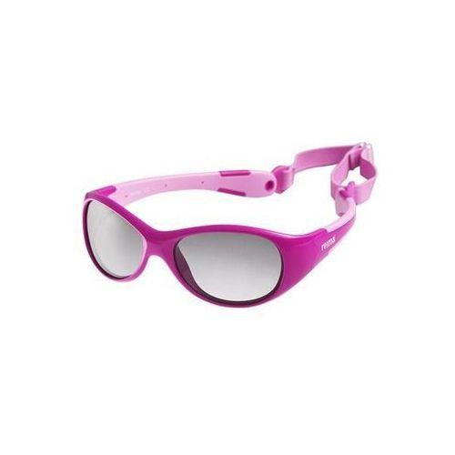 Okulary przeciwsłoneczne Reima Ulappa 4-8 lat UV400 różowe