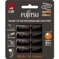 Fujitsu  black r6 2450 mah -4szt blister
