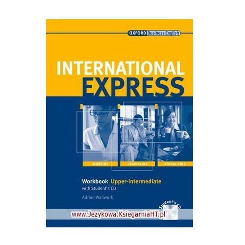 International Express Interactive, Upper Intermediate, Workbook (zeszyt ćwiczeń) with Audio CD (9780194574969)