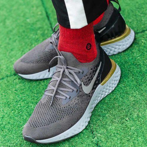 Buty treningowe męskie epic react flyknit (aq0067-009) marki Nike