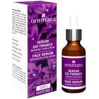 Orientana BIO serum do twarzy Brahmi i Kwas hialuronowy. 30 ml.