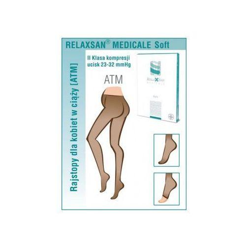 Rajstopy ciążowe przeciwżylakowe II klasy kompresji (ucisk 23-32 mmHg) – MICROFIBRA