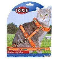 Trixie szelki dla kota ze smyczą regulowane miękkie