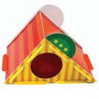 Kartonowa zjeżdżalnia – domek dla gryzoni marki Hp small animal