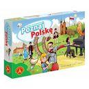 Alexander Poznaj polskę  gra planszowa  5906018017786  Poznaj Polskę  gra planszowa