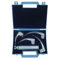 Laryngoskop światłowodowy McIntosh NEW WASEEM HAL-02, 4 łyżki 0-3