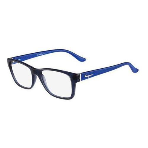 Salvatore ferragamo Okulary korekcyjne sf 2687 414