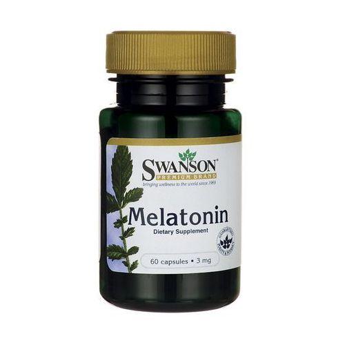 Kapsułki Swanson Melatonina 3mg 60 kaps